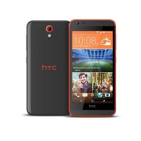 HTC Desire 620 (4718487674480) šedý/oranžový