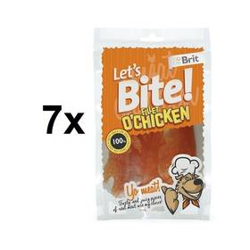 Brit Lets Bite Fillet Chicken 7 x 80 g