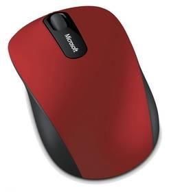 Microsoft Bluetooth Mobile Mouse 3600 (PN7-00014) černá/červená