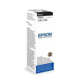 Inkoustová náplň Epson T6641, 70ml - originální (C13T66414A10) černá