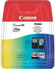 Canon PG-540 / CL-541 - originální (5225B006) černá/červená/modrá/žlutá