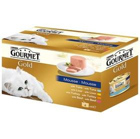 Gourmet Gold jemná paštika Multipack (4x85g)