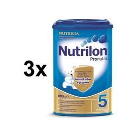 Nutrilon 5 Pronutra, 800g x 3ks + DÁREK