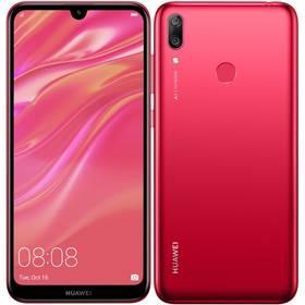Huawei Y7 2019 Dual SIM (SP-Y719DSROM) červený