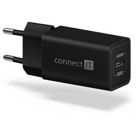 Connect IT 1x USB-C PD, 18W (CWC-2060-BK) čierna