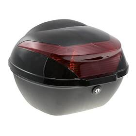Zadní kufr k elektrickému motocyklu RACCEWAY E-BABETA, černý