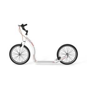 Yedoo Alloy Dragstr bílá + Reflexní sada 2 SportTeam (pásek, přívěsek, samolepky) - zelené v hodnotě 58 Kč + Doprava zdarma