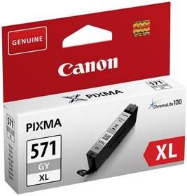 Inkoustová náplň Canon CLI-571XL G (0335C001) šedá