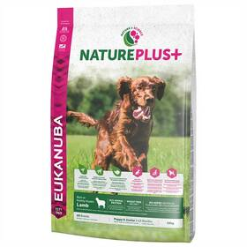 Eukanuba Nature Plus+ Puppy & Junior frozen Lamb 10 kg