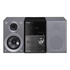 Panasonic SC-PM602EG-S (SC-PM602EG-S) stříbrná Sluchátka Panasonic RP-HF100ME-K - černá (zdarm