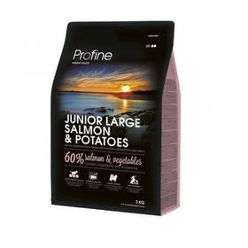 Granule PROFINE Junior Large Breed Salmon & Potatoes 3kg