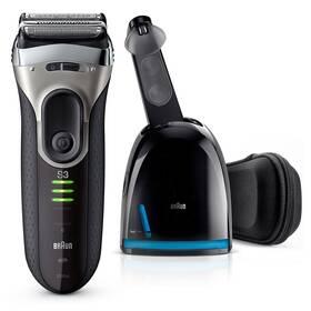 Braun Series 3 Series 3-3090 Clean&Charge čierny/sivý