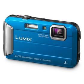 Panasonic Lumix DMC-FT30EP-A modrý + Doprava zdarma