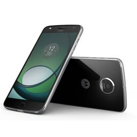 Lenovo Moto Moto Z Play Dual SIM (SM4443AE7N6) černý SIM s kreditem T-mobile 200Kč Twist Online Internet (zdarma) + Doprava zdarma