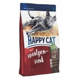 HAPPY CAT ADULT Voralpen-Rind / Alpské hovězí 10 kg + Doprava zdarma