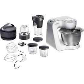 Bosch Styline MUM54211 stříbrný/bílý + K nákupu poukaz v hodnotě 1 000 Kč na další nákup + Doprava zdarma