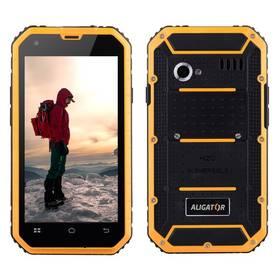 Aligator RX460 eXtremo 16 GB Dual SIM (ARX460BY) čierny/žltý