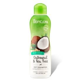 Tropiclean Medicated Ovesné vločky a čajovník 355ml