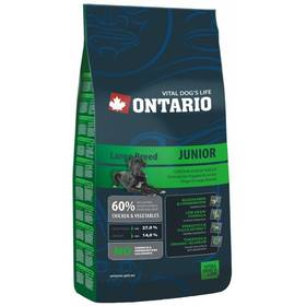 Ontario Junior Large Breed 13 kg + Doprava zdarma