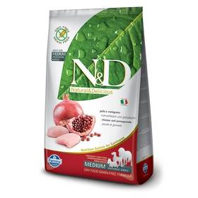 N&D Grain Free DOG Adult Chicken & Pomegranate 12 kg + Doprava zdarma