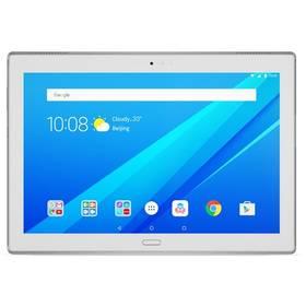 "Lenovo TAB4 10"" PLUS LTE 64 GB (ZA2R0090CZ) bílý + SIM s kreditem T-Mobile 200Ke Twist Online"