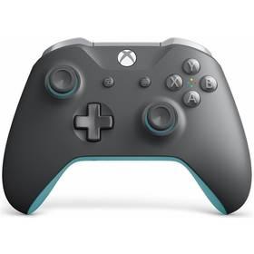 Microsoft Xbox One Wireless - grey/blue (WL3-00106)