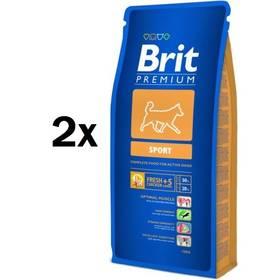 Brit Premium Dog Sport 2 x 15 kg + Doprava zdarma