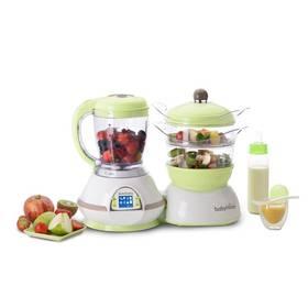 Multifunkčný prístroj Babymoov Nutribaby biela/zelená/hnedá