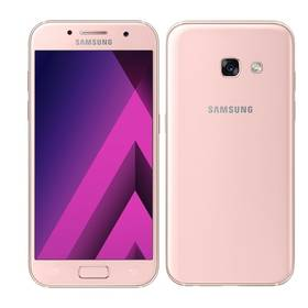 Samsung Galaxy A3 (2017) (SM-A320FZINETL) růžový Voucher na skin Skinzone pro Mobil CZSoftware F-Secure SAFE 6 měsíců pro 3 zařízení (zdarma) + Doprava zdarma