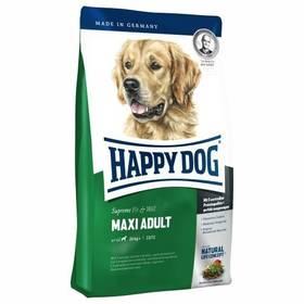 HAPPY DOG MAXI Adult 15 kg Konzerva HAPPY DOG Rind Pur - 100% hovězí maso 400 g (zdarma) + Antiparazitní obojek za zvýhodněnou cenu + Doprava zdarma