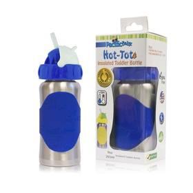 Pacific Baby Hot-Tot s brčkem 260 ml modrá + Doprava zdarma