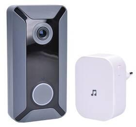 Solight 1L200, Wi-Fi s kamerou (1L200) šedý/bílý