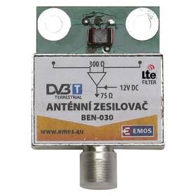 EMOS anténní předzesilovač 30dB VHF/UHF (2507100700)
