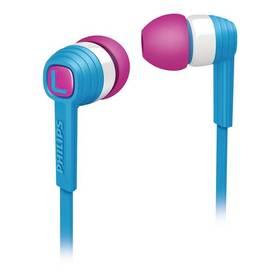 Slúchadlá Philips SHE7050BL biela/modrá/ružová