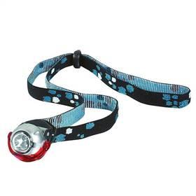 Yate Micro 3 LED + clip 2x2 cm stříbrná