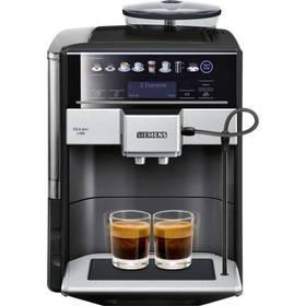 Siemens EQ.6 TE655319RW černé Káva Jacobs DE L´OR BN FORTISSIMO ESPRESSO 500g (zdarma)+ Káva BIO zrnková Uganda 250 g Simon Lévelt v hodnotě 159 Kč + Doprava zdarma
