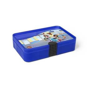 LEGO® Úložný box LEGO® s přihrádkami LEGO® Friends fialový