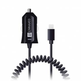 Connect IT Apple Lightning, 2,4A (CI-435) černá (vrácené zboží 8800308181)