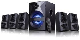 Fenda F&D F3800X 5.1, bluetooth, rádio, USB, SD, dálkové ovládání (F3800X) černé + Doprava zdarma