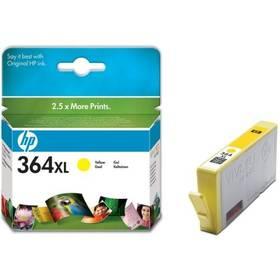 HP No. 364XL, 750 stran - originální (CB325EE) žlutá