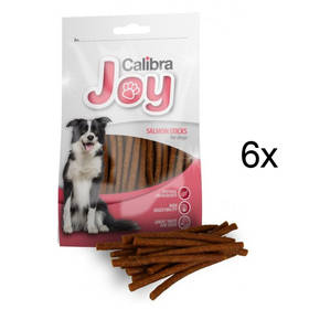 Calibra Joy Dog Salmon Sticks 6 x 80g