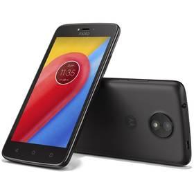 Lenovo Motorola Moto C Dual SIM (PA6L0079CZ) černý SIM s kreditem T-Mobile 200Kč Twist Online Internet (zdarma)