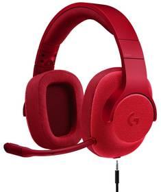 Logitech Gaming G433 7.1 Surround (981-000652) červený