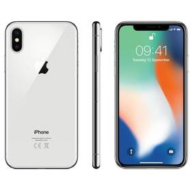 Apple iPhone X 64 GB - Silver (MQAD2CN/A) + Doprava zdarma