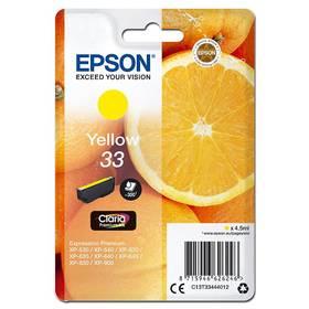Epson Claria Premium T33 (C13T33444012) žlutý