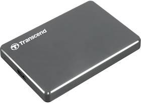 Transcend StoreJet 25C3 1TB (TS1TSJ25C3N) šedý/ocel