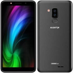 Aligator S6000 Dual SIM (AS6000BK) černý (Zboží vrácené ve 14 denní lhůtě, servisované 8801055541)