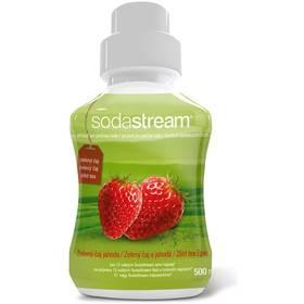 SodaStream Zelený čaj-jahoda 500 ml