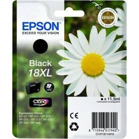 Epson T1811 XL, 470 stran - originální (C13T18114010) černá