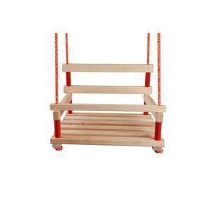 Houpačka CUBS dřevěná s ohrádkou